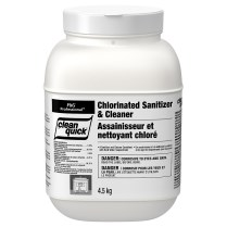 Clean Quick Chlorine Sanitizer and Cleaner