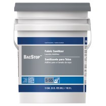 Bacstop Laundry Sanitizer Liquid Concentrate Closed Loop 1/5 gal