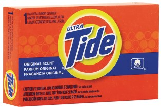 Tide Powder Laundry Detergent Coin Vend