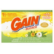 Gain with Bleach Laundry Detergent Coin Vend