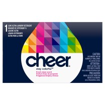 Cheer Stay Colorful Powder Laundry Detergent Coin Vend
