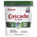 Cascade Platinum ActionPacs Fresh Scent 3/62 ct